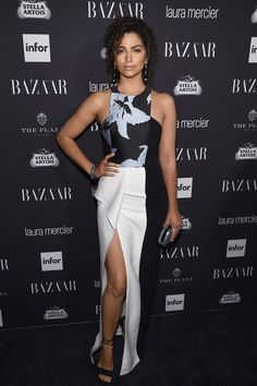 Camila Alves - Every Stunning Look from Harper's Bazaar's 'ICONS' Party - Photos