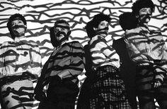 Retrato da banda Mercenárias (Foto: Rui Mendes)