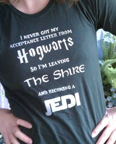 All-in-One Harry Potter-LOTR-Star Wars T-shirt