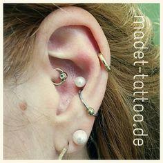 Der Daith, die zweiten Ohrlöcher und der double Conch sind von mir - www.madet-tattoo.de Daith, Conch, Earrings, Jewelry, Fashion, Ear Rings, Moda, Stud Earrings, Jewlery