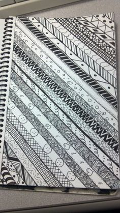 More Inspiration for Your Patten Artwork! Easy Doodle Art, Doodle Art Drawing, Zentangle Drawings, Mandala Drawing, Mandala Painting, Pencil Art Drawings, Mandala Art Lesson, Zantangle Art, Zen Art