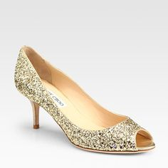 Glitter coated Jimmy Choo Isabels--ahhh!