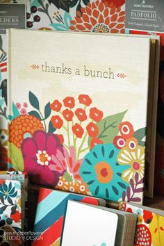 "Beautiful hostess gift. ""Thanks A Bunch"" Inspirational Gift Book by @liveinspired"