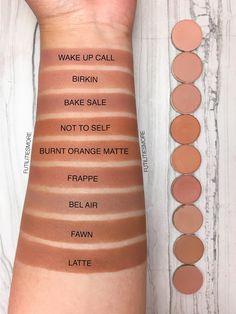 TRANSITION SHADES medium browns: Colourpop VS Anastasia Beverly Hills VS makeup geek