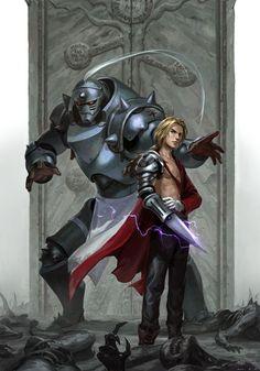 Edward and Alphonse Elric from Fullmetal Alchemist