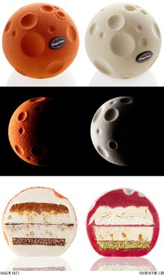 ok - wow - Häagen Dazs lunar ice cream sandwiches - beyond cool