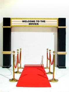 Welcome to the Movies Entranceway
