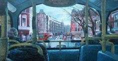 Read our exclusive interview with Sky Arts Landscape Artist of the Year 2016 Heat Four Winner Titus Agbara as he discusses his landscape paintings, depicting scenes from London to Nigeria. Original Art, Original Paintings, London Bus, Sky Art, Traditional Paintings, Impressionism Art, Watercolour Painting, Landscape Paintings, Saatchi Art