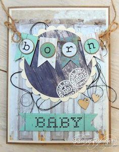 Baby card. Babykaart.