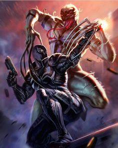 Anti-Venom vs Venom  Art by Dleoblack  Download images at nomoremutants-com.tumblr.com  Key Film Dates:: Marvel  - Thor: Ragnarok: Nov 3 2017  - Black Panther: Feb 16 2018  - New Mutants: Apr 13 2018  - The Avengers: Infinity War: May 4 2018  - Deadpool 2: Jun 1 2018  - Ant-Man & The Wasp: Jul 6 2018  - Venom : Oct 5 2018  - X-men Dark Phoenix : Nov 2 2018  - Sonys Silver & Black: Feb 8 2019  - Gambit: Feb 14 2019  - Captain Marvel: Mar 8 2019  - The Avengers 4: May 3 2019  - Homecoming…