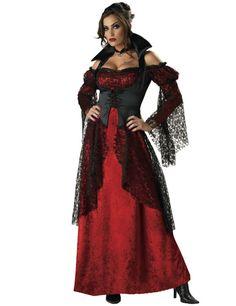 Elite Quality Lady Vampire Costume