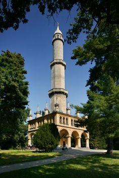 Česko, Lednice - Minaret