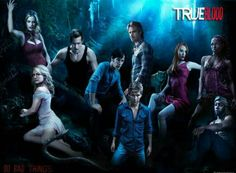 True Blood this show is awesome with its many characters cheesy yes in a good way