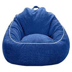 Xl Corduroy Bean Bag Chair Circo Blue Overalls Oversized