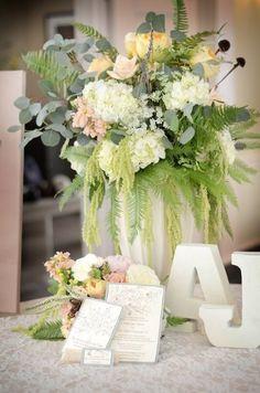 Vintage Chic Centerpieces Wedding Flowers Photos on WeddingWire