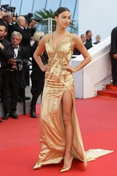 Cannes, Irina e le altre: top model sul red carpet