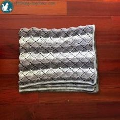 Free crochet pattern. Pattern category: Baby Blankets. Aran weight yarn. 900-1200 yards. Features: Lace. Intermediate difficulty level.