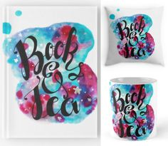 Enter this giveaway for a chance to win a gorgeous Book & Teahardcover notebook, mug and pillow set designed by Nosynonym . Good...