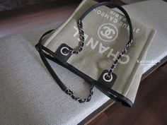 shop-my-closet | Chanel Deauville shopping bag | S$1900 | New