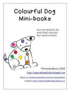 Colourful Dog Mini-Books