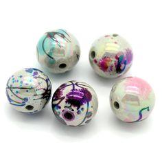 20 AB Schimmer Perlen 12mm Drawbench Muster Acryl Beads Kugel rund top | Sonstige Kunststoff Perlen | Kunststoffperlen | Perlen |  günstig kaufen bei Bacabella.com | Perlen, Schmuck und Schmuckzubehör zum Schmuck selber machen | Schmuck basteln DIY DoItYourself | ganz individuell und einfach | Schmuckperlen