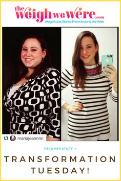 Read her weight loss transformation @ TheWeighWeWere.com!  (Share YOUR weight loss transformation story, too!)