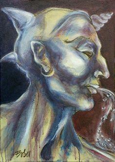 Original Fantasy Painting by Clara De Bobes Saatchi Art, Oil On Canvas, Original Paintings, Artist, Paintings, Artists