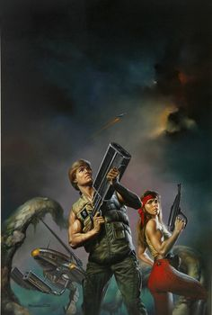Combat Zone by Boris Vallejo 1992
