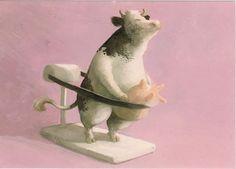 Ilustraciones de Peter Gut en The Animalarium
