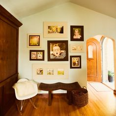Hardwood Frames Copy Decorating With Portraits