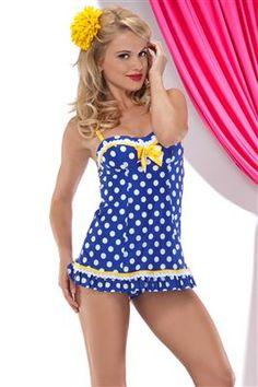415d5b9d920b5 Betsey Johnson swimwear - Let's Polka! Vintage Swim, One Piece Swim, Cute  Swimsuits