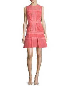 J. Mendel Mixed-Lace Paneled Dress, Aurora New offer @@@ Price :$3200 Price Sale $2240