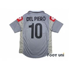 3aa0e881e8b Juventus 2000-2001 Away Shirt  10 Del Piero