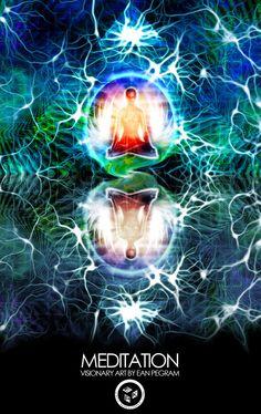 Meditation – The Visionary Art of Ean K Pegram