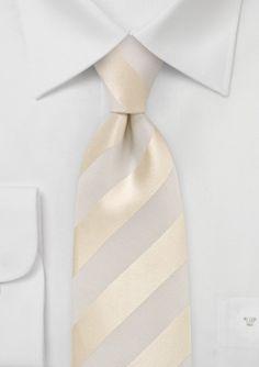 Bows N Ties Sb2706 Necktie Groomsmen Accessory ivory silk