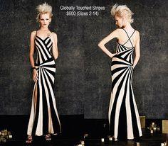 Fantastic use of stripes.