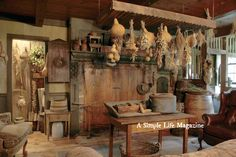 Summer 2015 issue of A Simple Life Magazine - Home and gardens of Terry & Lori Wills