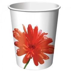 Paper Cups count) Description: Catch a little sunshine in your cup! Paper Cups count) has pretty red and gold flowers all around Captain Marvel Halloween Costume, Halloween Costumes For Kids, Halloween Party, Adult Costumes, Cheap Flowers, Gold Flowers, Company Party, Church Events, Party Cups