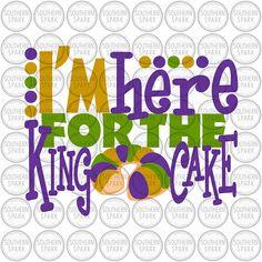 e3d0dd04b3619 Mardi Gras King Cake #mardigras #esty #kingcake Silhouette Studio,  Silhouette Cameo Projects