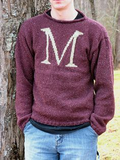Free Knitting Pattern for Weasley Christmas Sweater - Allison ...