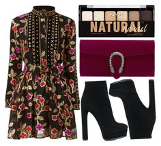 """""""street style"""" by sisaez ❤ liked on Polyvore featuring Dodo Bar Or, Casadei, Gucci and NYX"""