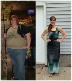 Weight Loss Success Story Brooke Before and After Photo