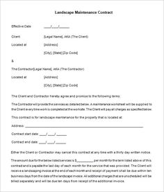 Simple Construction Contract   Construction Contract Template
