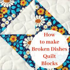 How to Make Broken Dishes Quilt Blocks Using Half Square Triangles (Simple Simon and Company) Quilting Templates, Quilt Block Patterns, Quilting Tutorials, Quilting Projects, Quilt Blocks, Sewing Projects, Quilting Ideas, Quilting Quotes, Quilting Board