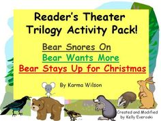 Reader's Theater Trilogy Pack - Bear Snores On, Bear Wants More & Bear Stays Up for Christmas product from HappilyEverAfterEducation on TeachersNotebook.com