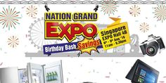 Harvey Norman Nation Grand Expo Singapore Promotion 6 to 9 Aug 2016