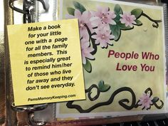 People Who Love You – Pam's Memory Keeping
