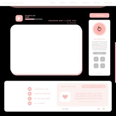 ♡ credits to which he made this beautiful template to which I do not remember his name ♡ - New Sites Overlays Instagram, Instagram Frame, Aesthetic Backgrounds, Aesthetic Wallpapers, Frame Template, Templates, Layout Template, Foto Youtube, Overlays Cute