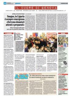 I Figgi do Zena raccolgono per il magazzino solidale dell'Associazione La Dimora Accogliente onlus - Il Secolo XIX