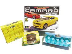 #Camaro SS #Model #Easter Bundle - Includes 4 Items - One Model Car, One #Chocolate Peanut Butter Filled #Egg, Plus Two Packs #Peeps #Happy #Easter #Basket #Fillers #Boys